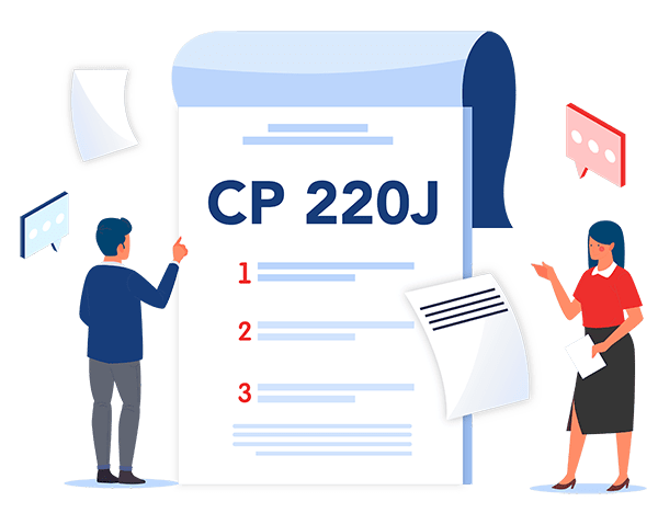 IRS Notice CP220J Explained